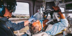 Para salvar vidas o apoio aéreo e extremamente fundamental